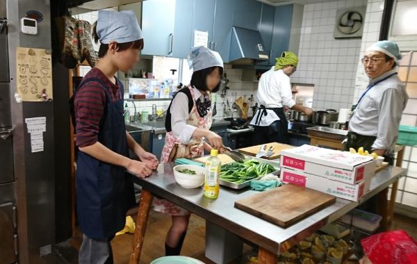 子供食堂ボランティア