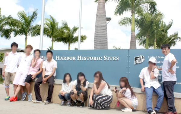 ハワイへの修学旅行 2
